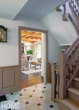 Sustainable Cape Cod Entryway