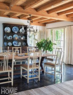 Sustainable Cape Cod Dining Room