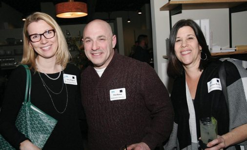 elly Rogers of Kelly Rogers Interiors and Paul and Lisa Bunis of Boston Stone Restoration