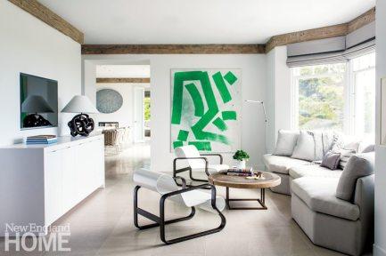 Hutker Architects Kitchen Seating Area