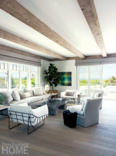 Hutker Architects Great Room Seating Area