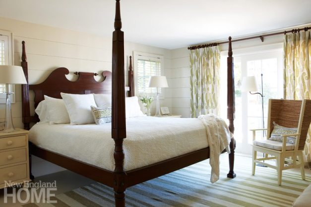 Chappaquiddick Shingle Cottage Guest Bedroom