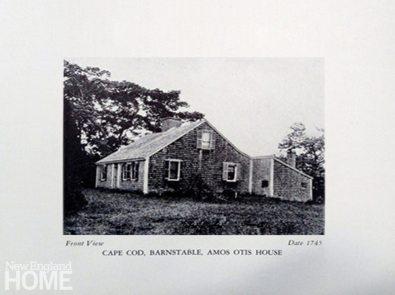 The original Amos Otis house.