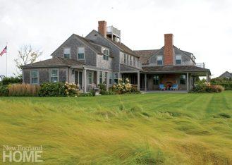 Nantucket Shingle Colonial Rear
