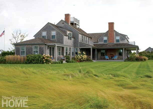Nantucket Shingle Colonial Rear
