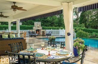 Outdoor Entertaining Space Dining Area