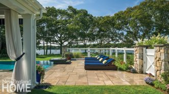 Outdoor Entertaining Space Lounging