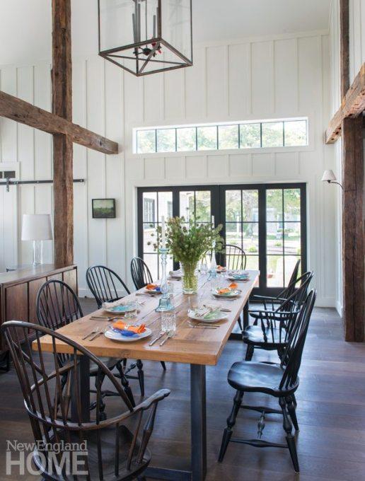 Restored Amos Otis House Dining Area
