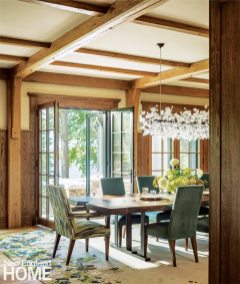 Lake Sunapee Camp Dining Room