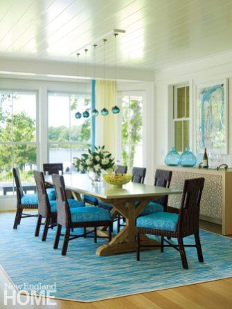 Rhode Island Shingle Style Dining Room