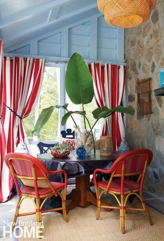 Darien Stone Cottage Porch