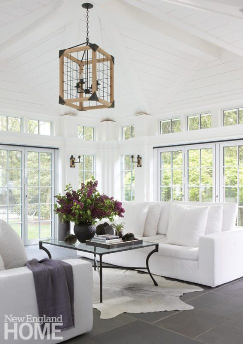 Brooks & Falotico New Canaan white conservatory