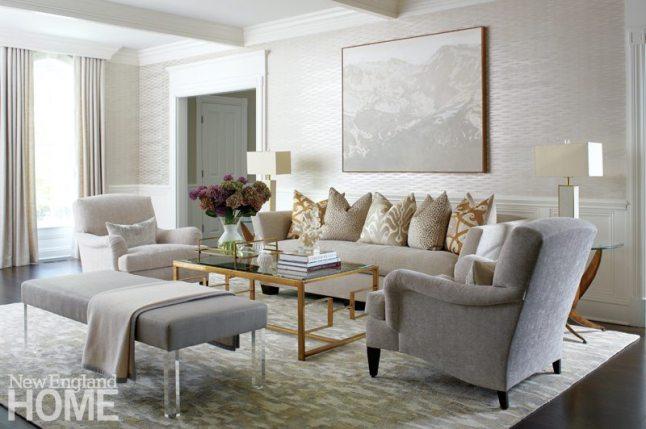 Brooks & Falotico New Canaan living room