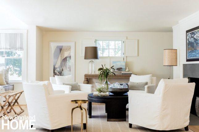 Lisa Tharp Coastal Inspired Living Room