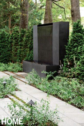 Contemporary Boston Urban Garden
