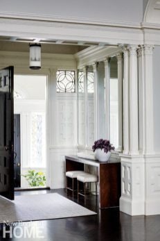 Historic Boston home entryway
