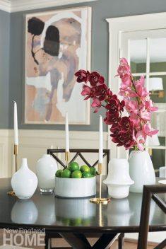Table vignette Phoebe Lovejoy dining room