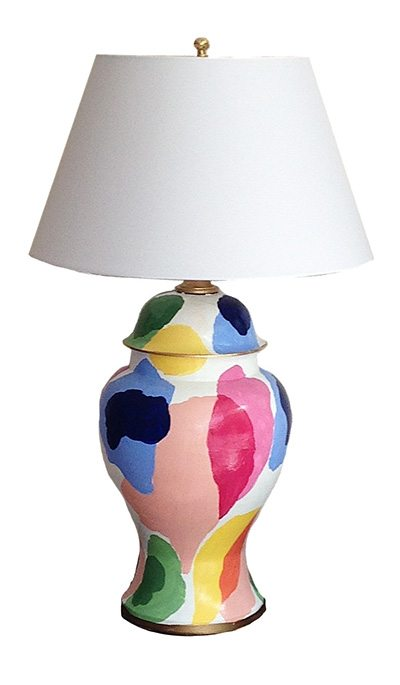 dana gibson art lamp