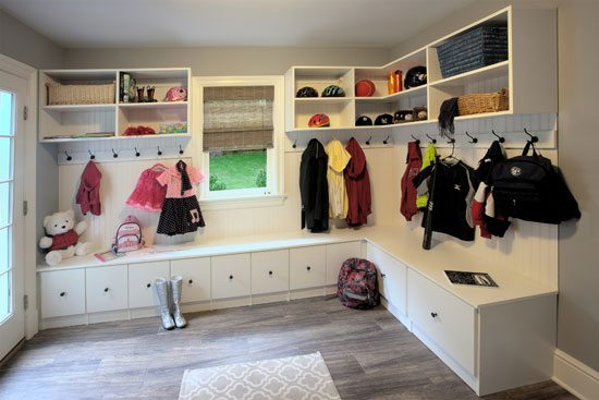 custom closet and storage solutions