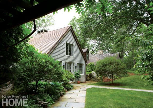 Shingled style exterior Litchfield County