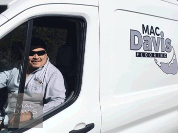 Lead foreman Francisco Ortiz is a long time Davis family friend. Mac and Francisco worked together for Chuck Davis growing up and he joined Mac Davis Flooring in 2006.