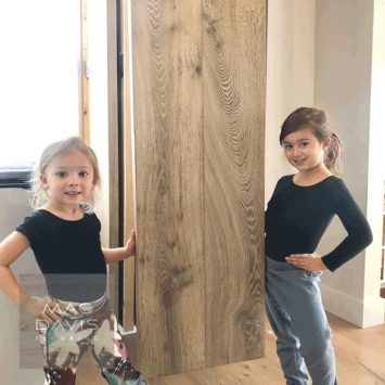 Mac Davis Flooring is a family affair and you can often find daughters Stella and Mia visiting one of the showrooms.