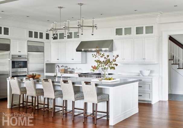 Shope Reno Wharton Shingle style home kitchen