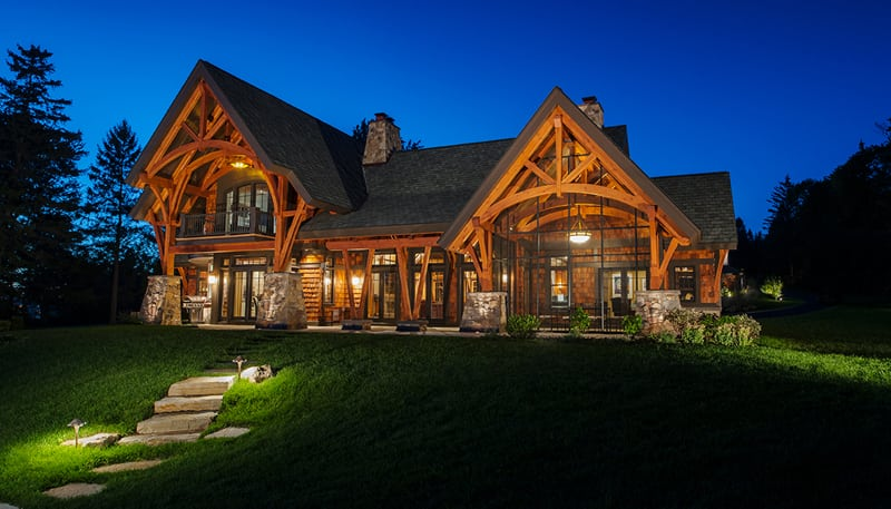 New Energy Works timber frame styles