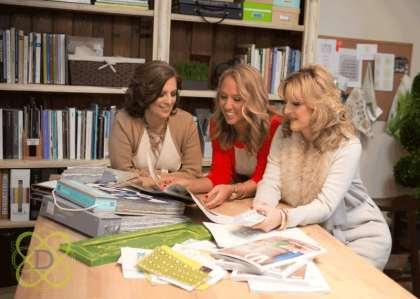 The LDD team: Laurie Tuttle, Kathleen Rapp, and Lisa Davenport