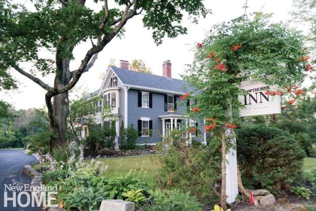 Exterior Concord's Hawthorne Inn