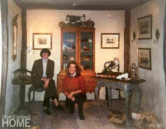 Rhonda Eleish and Edie van Breems of Eleish van Breems show off their Linnaeus's Study from 2003.