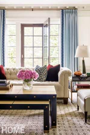 Living room designed by Nina Farmer