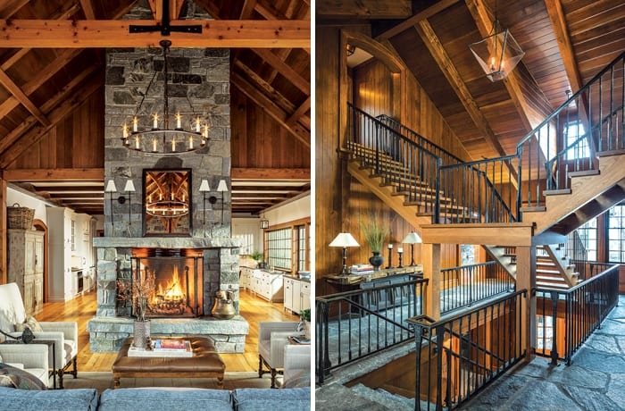 living room boston colour schemes 2018 new england home magazine a vermont ski house for the whole family