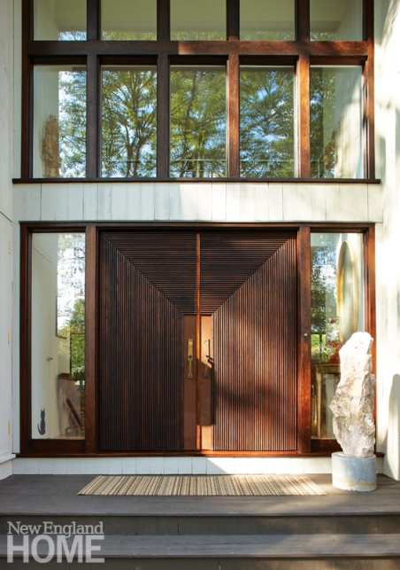 dramatic front entry