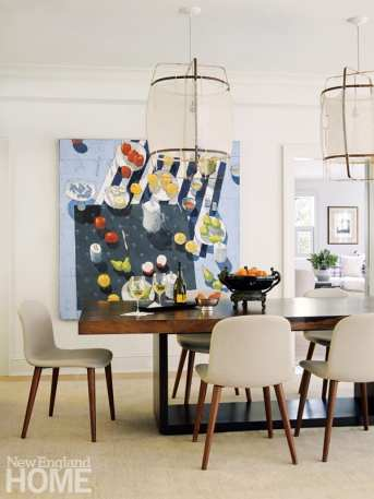 dining room Paul Balmer painting