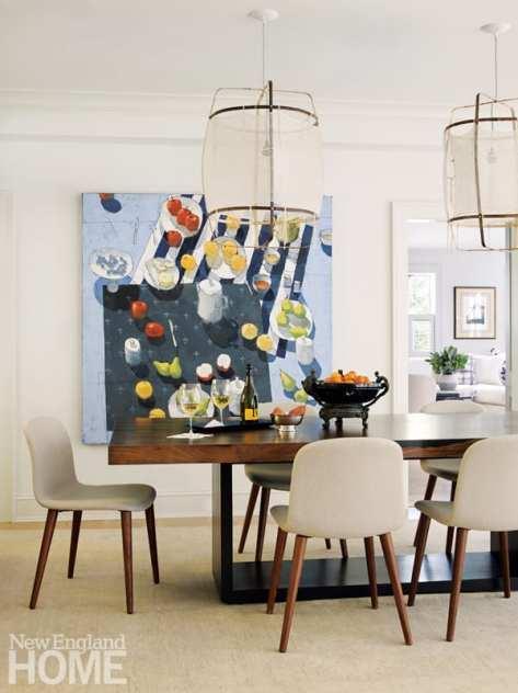 dining room Paul Balmer painting