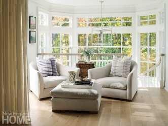 sitting area in master's bedroom