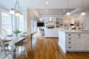 Custom Cape Cod Home kitchen