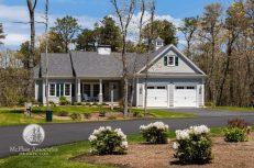 Custom Cape Cod Home exterior