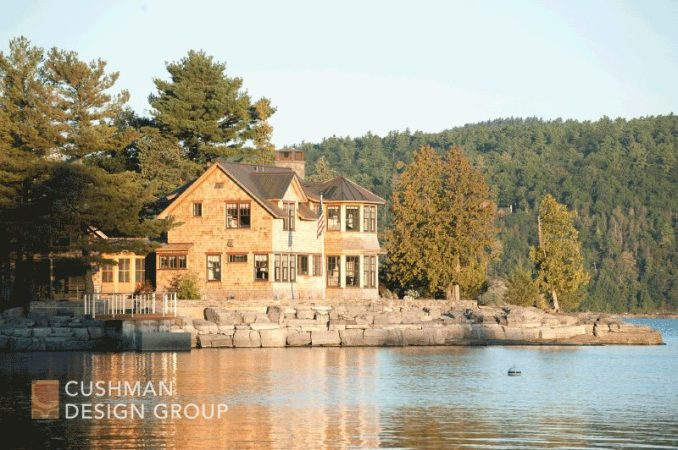 Five Essential Elements for a Home that Nurtures the Spirit: Mile Point exterior