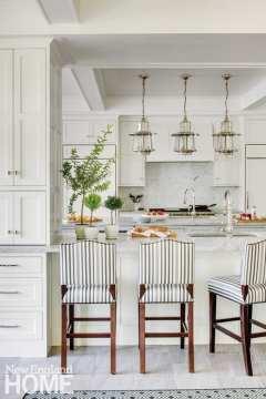 Classic New England Charm kitchen