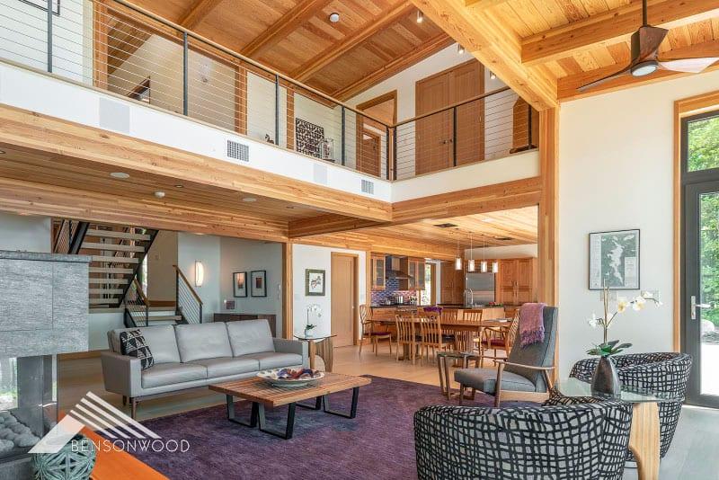 prefab cozy and contemporary loft