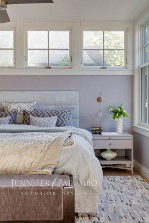 decorative lighting bedroom with windows
