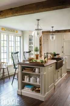 contemporary and traditional in wilton kitchen