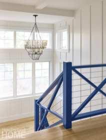 seabrook beach blue stairway