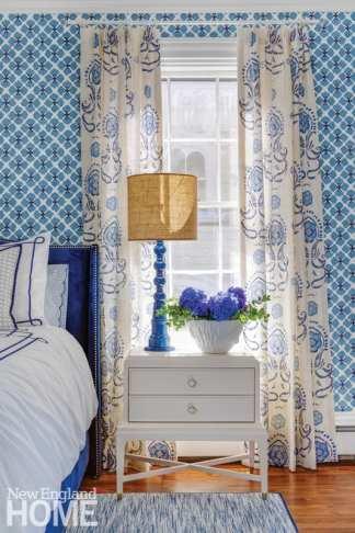 greek revival in providence bedroom