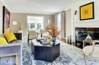 home gets a new lease on life living area