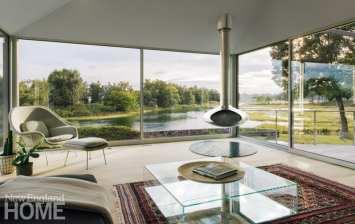 minimalism connecticut sitting room