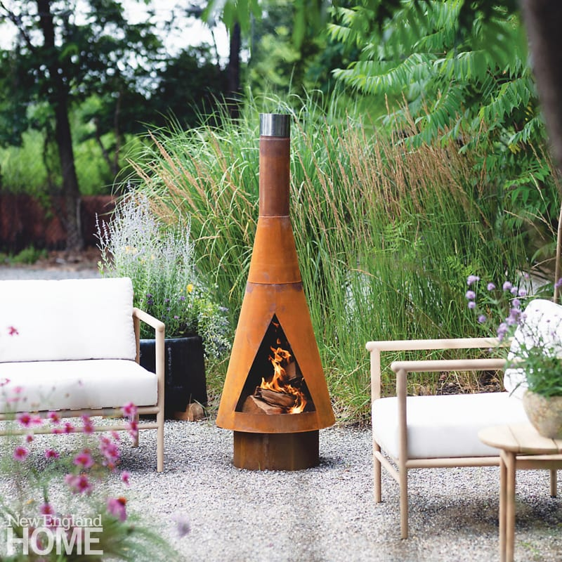 ways to invite nature into your landscape chiminea