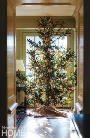 connecticut country house christmas tree